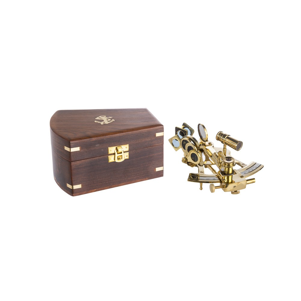 Brass Nautical Antique Direction Hadley London Sextant Instrument Gift New Year